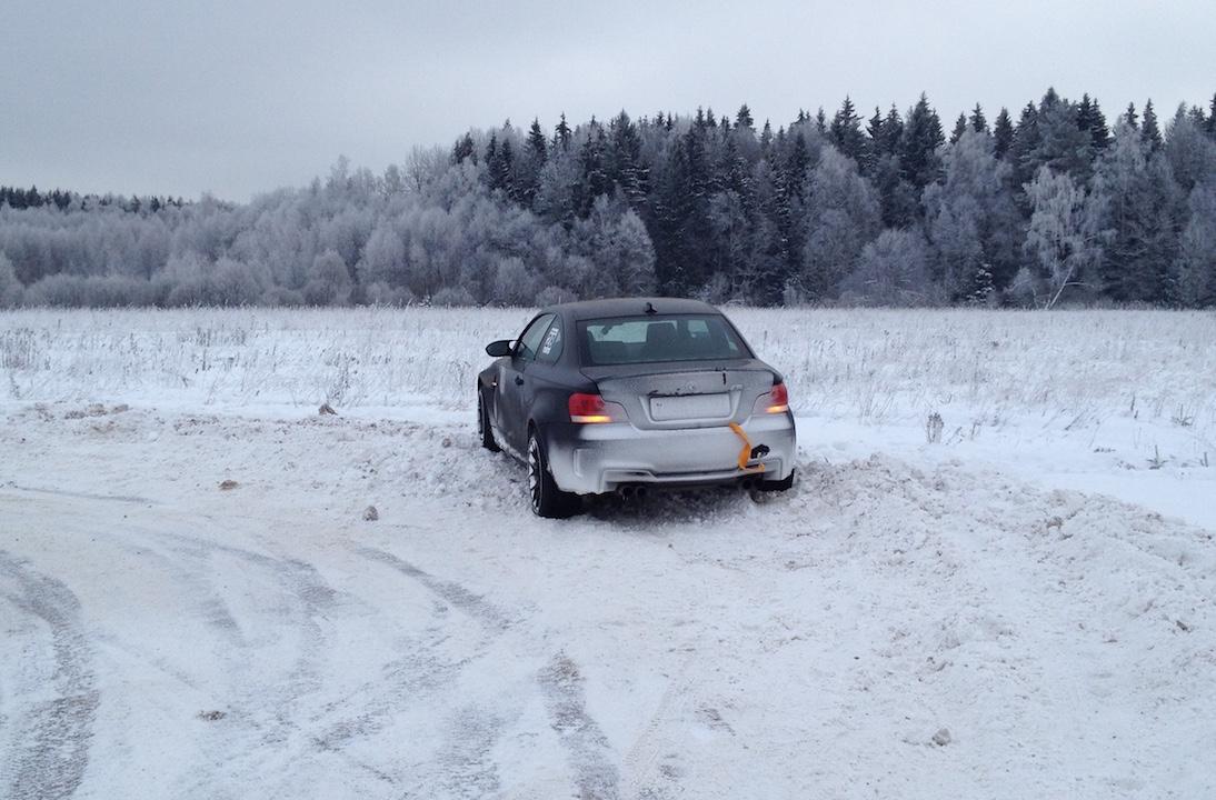 Впечатления от ралли-спринта на BMW M Coupe